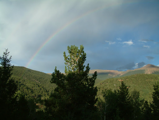 View From a Cabin Near Divide, Colorado