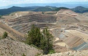 American Eagles Gold Mine Near Cripple Creek, CO