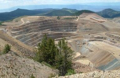 Gold Mine Near Cripple Creek, CO