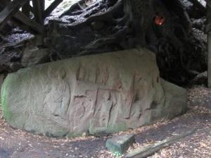 Carving at a Roman Spring