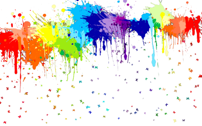 Rainbow Splotches