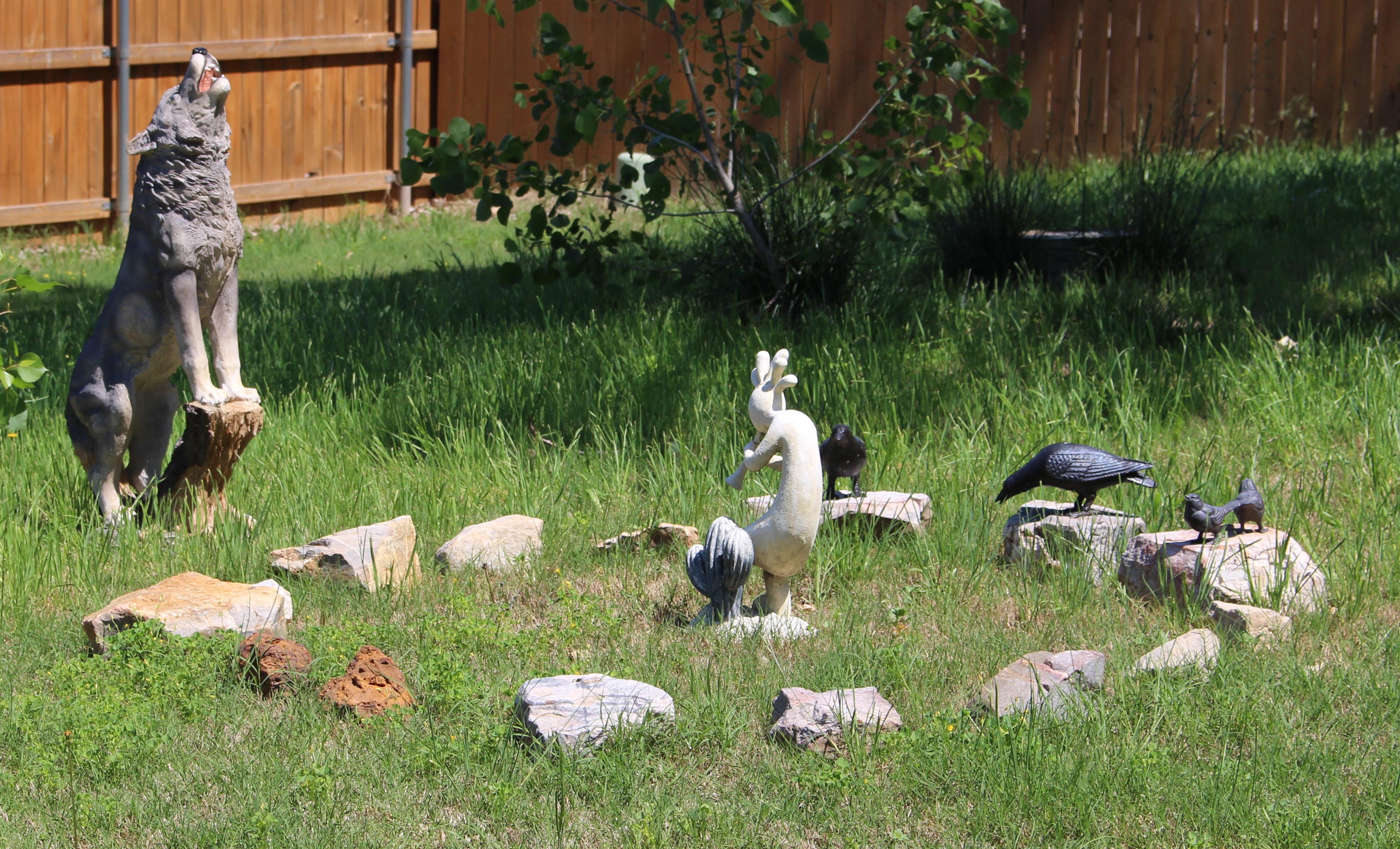 My Backyard Stone Circle