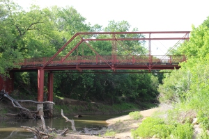 Old Alton Bridge - aka Goatman's Bridge - Denton County Texas