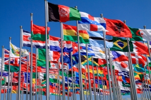 The world national flags