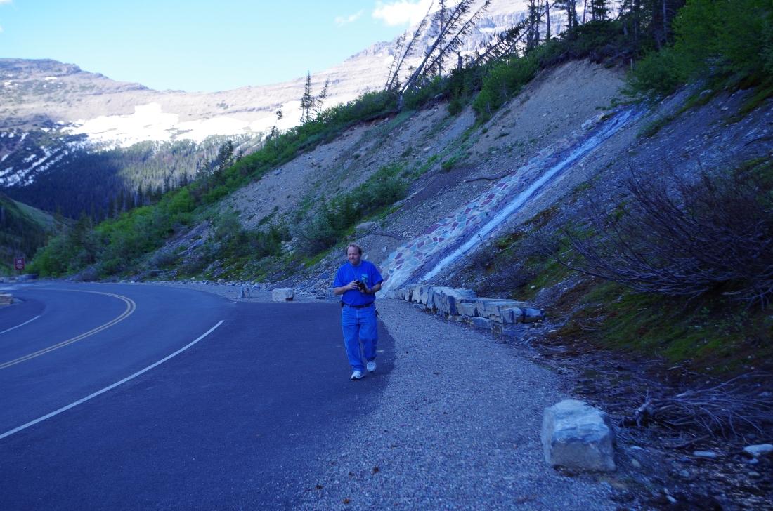 Just After Sunrise - Glacier National Park