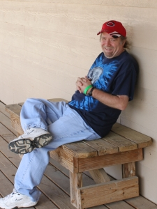 Me at the 2015 ADF Texas Imbolc Retreat (photo by John Beckett)