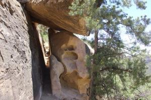 Pathway in Mesa Verde