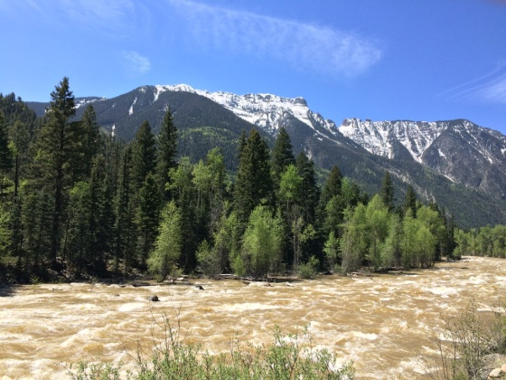 Animas River before the Chemical Spill