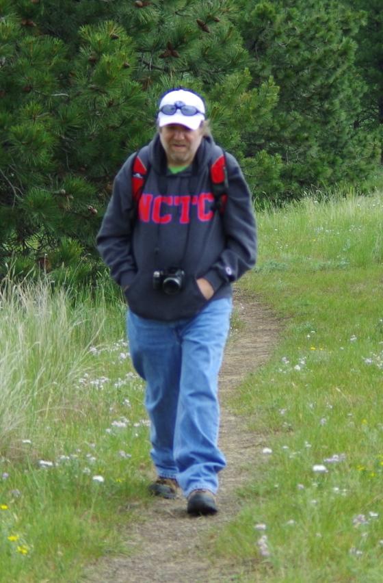 Walking on Wild Horse Island in Montana